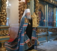 День памяти Всех святых, в земле Русской просиявших, в Новодевичьем монастыре