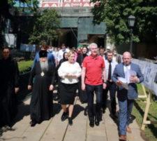 Визит мэра Москвы С. С. Собянина в Новодевичий монастырь