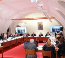 Заседание Организационного комитета по подготовке и проведению празднования 500-летия основания Новодевичьего монастыря