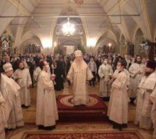 Праздник Рождества Христова в Новодевичьем монастыре
