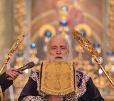 Великий четверг в Новодевичьем монастыре