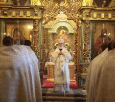 Великая суббота в Новодевичьем монастыре