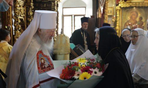 День памяти святителя Ювеналия, Патриарха Иерусалимского, в Петропавловском храме в Лефортове