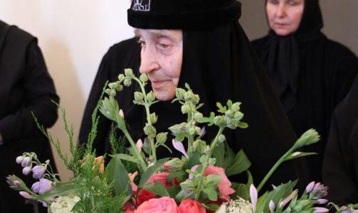 К 96-летию схимонахини Елены (Головкиной)