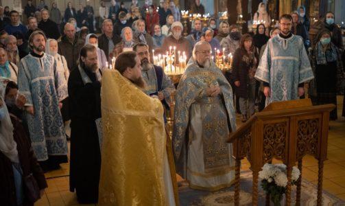 Праздник Покрова Божией Матери в Новодевичьем монастыре
